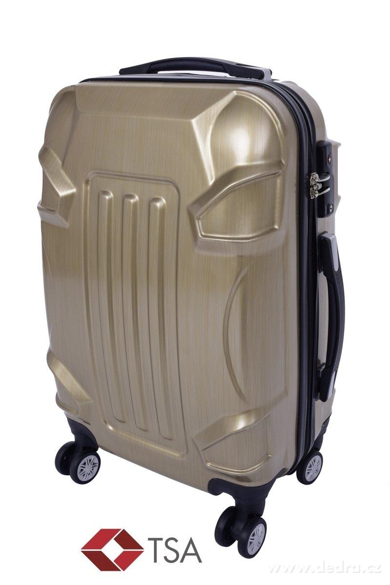 deaea9c54f2c8 TSA kufor menší GOLD RELIEF | DEDRA eshop
