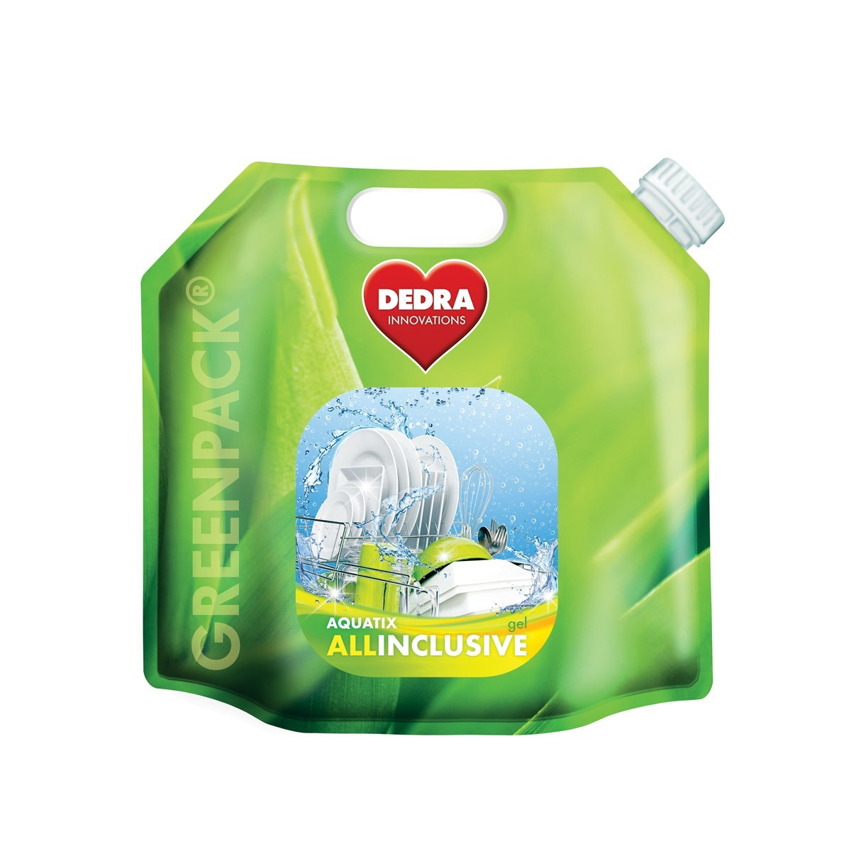 AQUATIX ALLINCLUSIVE Greenpack gel do umývačky