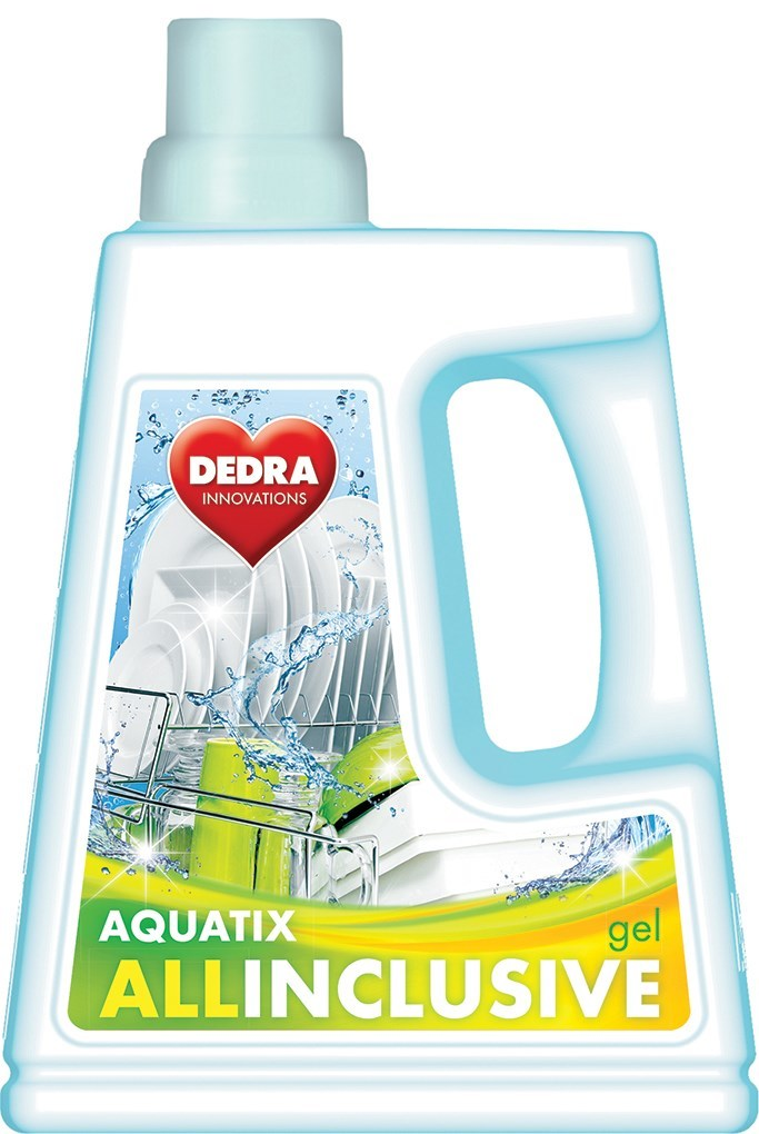 AQUATIX ALLINCLUSIVE gel do umývačky